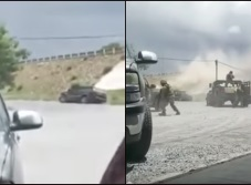 Captan balacera en Río Bravo, Tamaulipas (VIDEO)