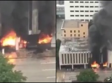 Se registra explosión en edificio de Houston (VIDEO)