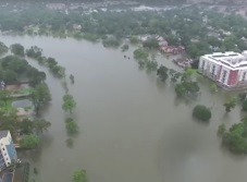 El huracán ´Harvey´ castiga Houston (VIDEOS)