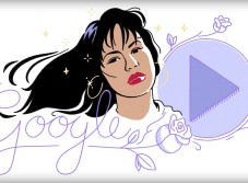 Google homenajea a Selena con video animado