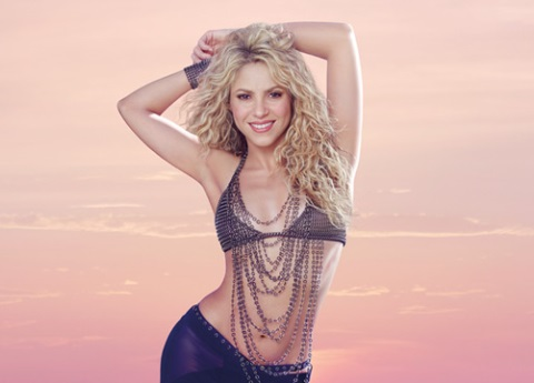 Critican a Shakira por abusar de Photoshop