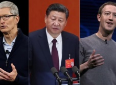 China plantea que Facebook y Apple crucen la muralla