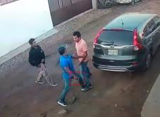 Video: Captan asalto a familia en Tabasco