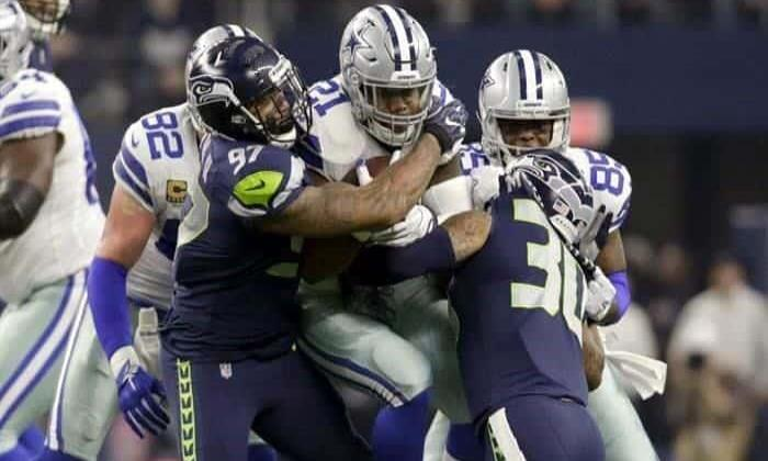 Dallas Cowboys cae ante Seahawks y se queda sin Playoffs