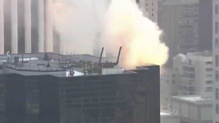 Se incendió la Torre Trump (VIDEO)