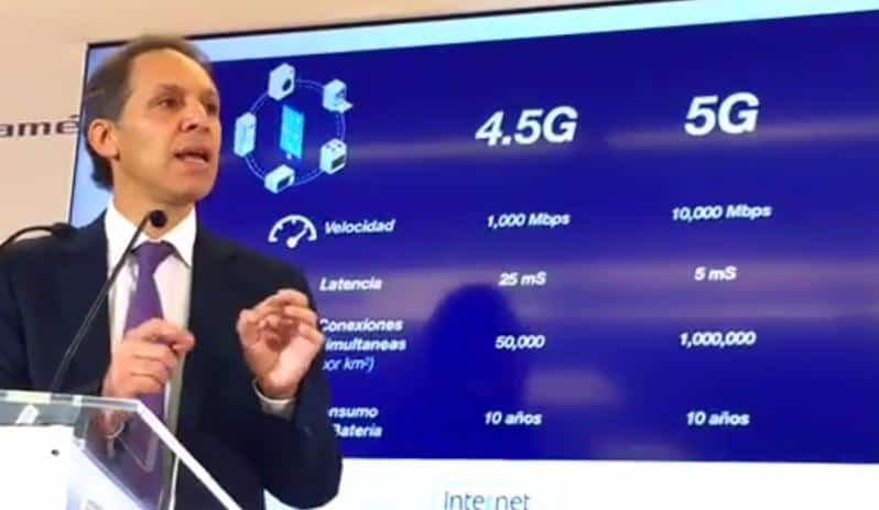 Telcel presenta red 4.5G Gigared;