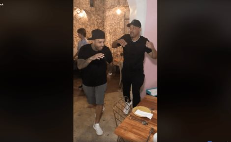 Will Smith, Jaden y Nicky Jam bailan en Colombia (VIDEO)