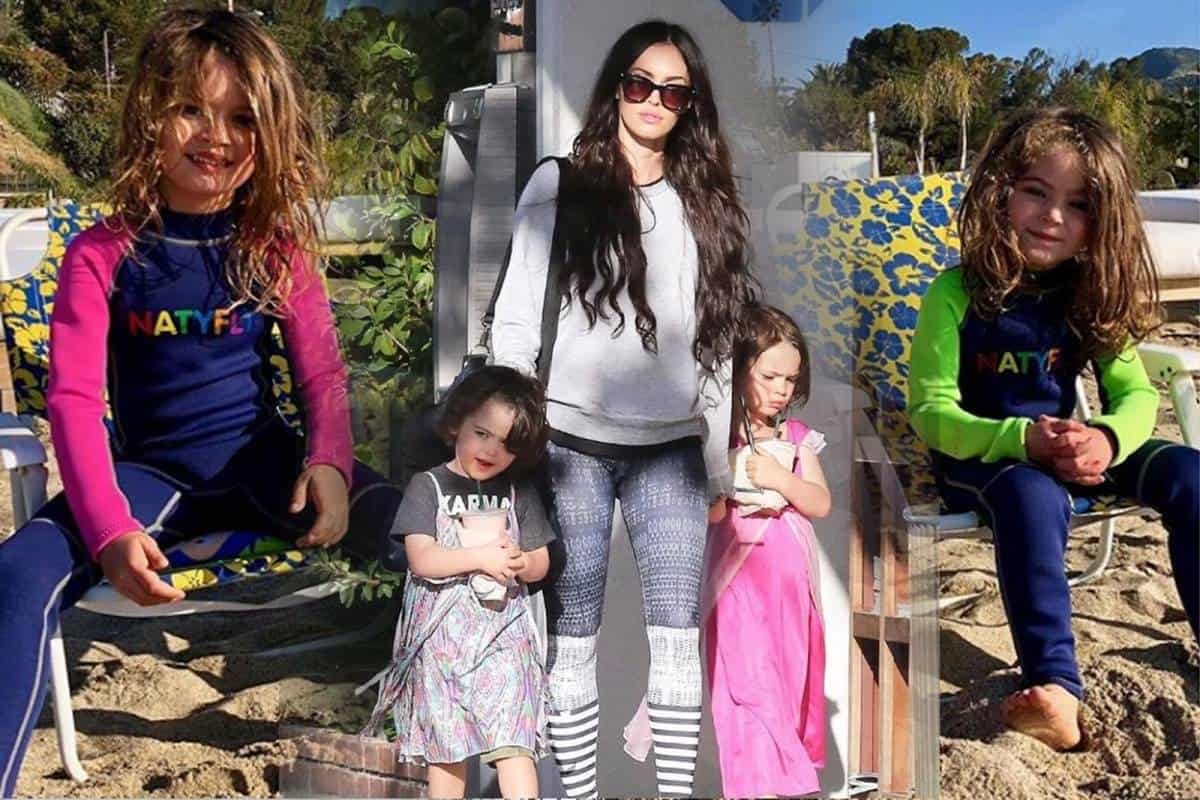 Megan Fox y sus hijas