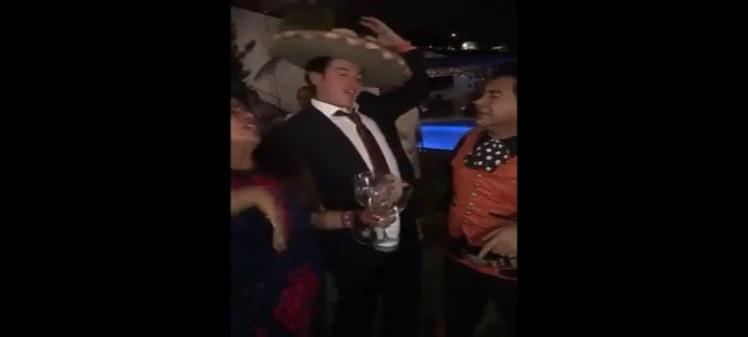 Candidatos de MC arman fiesta por entrar al Senado (VIDEO)