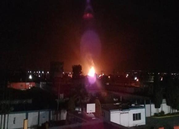 VIDEO: Explota toma clandestina de gas LP en Puebla