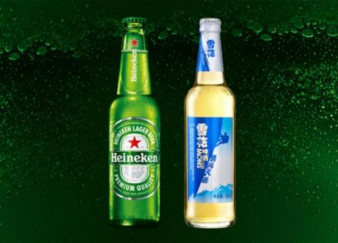 Heineken invierte en la mayor cervecera China
