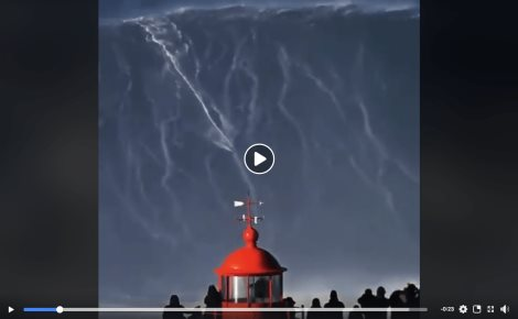 Surfista rompe récord mundial (VIDEO)