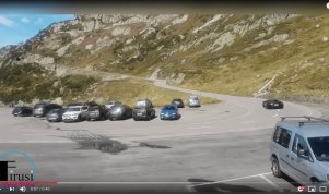 Impresionante accidente abordo de Lamborghini (VIDEO)