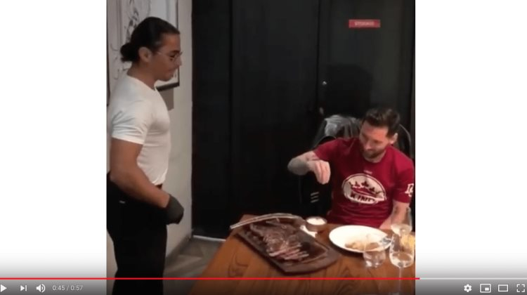 Famoso chef enseña a cocinar a Lionel Messi (VIDEO)