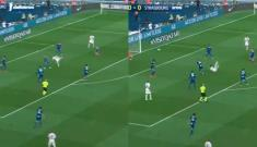 Video: El golazo de chilena de Neymar