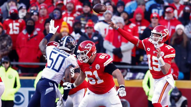 Kansas City Chiefs al Super Bowl LIV tras derrotar a Titans en la final de la AFC