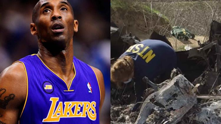 El video inédito después del accidente de Kobe Bryant