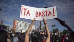 On Monday the women strike rumbles after raising their voice