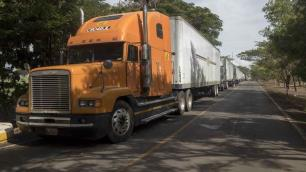 Central American truckers paralyzed by pandemic