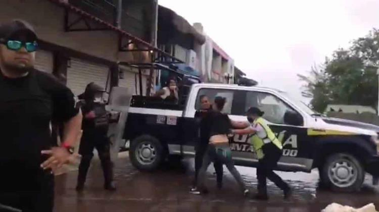Investigan agresión policiaca en Puerto Morelos +Video