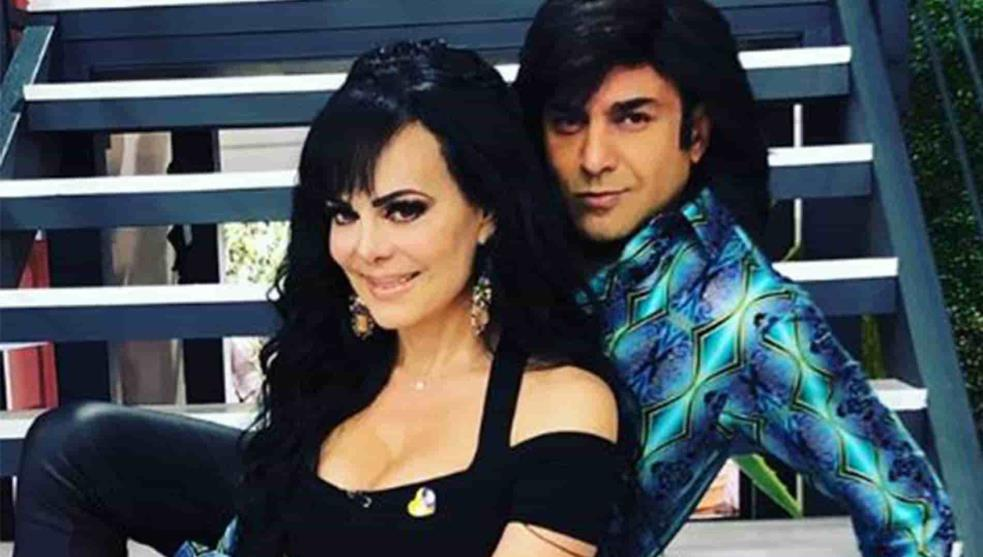 "Maribel Guardia se transforma en hombre y la comparan con ""Albertano"""