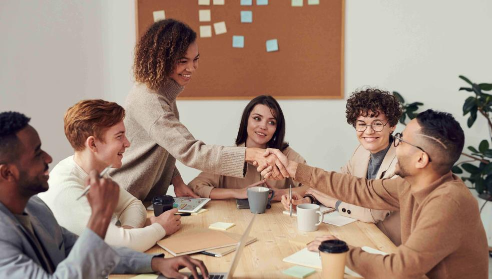 Women together, the secret to making things happen
