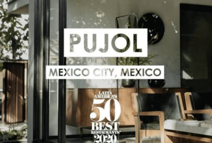 Pujol obtiene doble distinción en los 50 Best Restaurants 2020