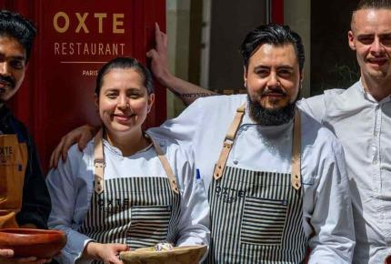 El chef mexicano Enrique Casarrubias recibe estrella Michelin